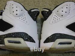 Nike Air Jordan 6 VI Retro Chaussures 2010 Blanc Noir Oreo Travis Scott Dmp 1 Hommes 10