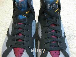 Nike Air Jordan 7 VII Retro Shoes 2011 Bordeaux Black Gray Bin 23 Olympic Hommes 10