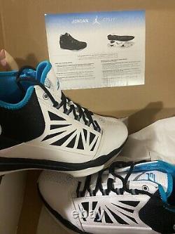 Nike Air Jordan Cp3 IV 4 Chaussures 2010 Blanc Orion Bleu Chris Paul Pe Hommes 11.5