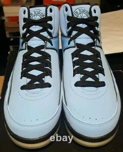 Nike Air Jordan II 2 Rétro Qf Candy Pack Shoes 2010 University Blue Black Men 10