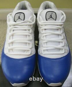 Nike Air Max Jordan Retro XI 11 Cfmt Comfort Viz Chaussures 2010 Og Blanc Bleu Hommes 10