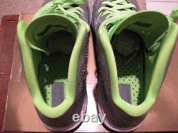 Nike Air Max Lebron 8 VIII P. S Chaussures 2011 Dunkman Silver Green Jordan 5 Hommes 10,5