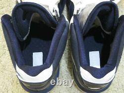 Nike Air Max Lebron 8 VIII V/2 Chaussures Yankees Navy Blue White Jordan Hommes 10 10,5
