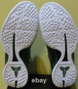 Nike Air Zoom Kobe Bryant VI 6 2010 Og Gris Vert Blanc Grinch Jordan Hommes 10,5
