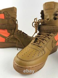 Nike Mens Sf Af1 Qs Desert Ochre Special Field Air Force 1 903270-778 Taille 9