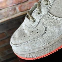 Nike Sf Af1 Air Force 1 High Khaki Rush Coral Size 9.5 Hommes 864024-205