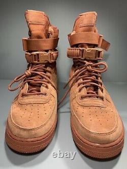 Nike Sf Special Air Field Force 1 High Dusty Peach Chaussures 864024-204 Taille Homme 11