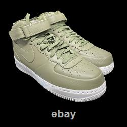 Nikelab Air Force 1 Mid'urban Haze' Green White Army 819677-300 Taille Homme 10,5