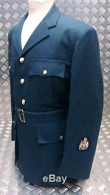 No1 Véritable Raf Britannique Officiers De La Royal Air Force Robe Veste Uniforme Pilote Witho