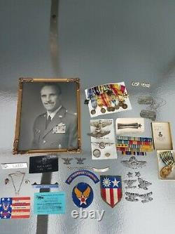 Nommé Colonel Transport Command Us Wwii Army Air Force Sterling Pilot Wing Lot