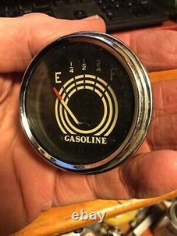 Nos 33 34 35 36 Cadillac Lasalle Carburant Essence Gauge Vintage Dash Scta Trog