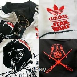 Nouveau Adidas Original Darth Vader Snoop Dogg Veste De Survêtement Star Wars P99576