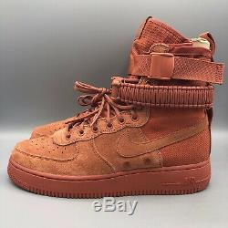 Nouveau Nike Air Force 1 Sf Taille Dusty Peach Men 8.5 Special Field 864024 204 180 $