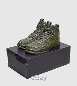 Nouveau Nike Lunar Air Forf Lf1 Duckboot Medium Olive Gum Duck Boot Army Green
