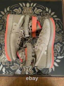 Nouveau Nike Special Field Air Force 1 One Sf High Shoes Khaki 864024-205 Homme 10