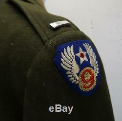 Officier De La Seconde Guerre Mondiale Veste En Laine Robe Uniforme Pilote De La Première Guerre Mondiale Us Army Air Force Corp