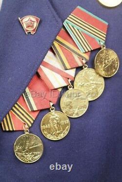 Officier Soviétique Parade Uniforme Lieutenant-colonel De L'armée De L'air Troupes Army New