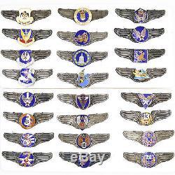 Ordre Des États-unis, Médaille De La 1ère Guerre Mondiale, Insigne, Armée De Terre, Armée De L'air, Marine, 25 Badges, Ensemble Complet, Rare