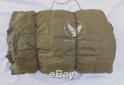 Original Ww2 Army Air Force Type A-3 Arctic / Survival Sleeping Bag Complete