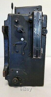 Période De La Seconde Guerre Mondiale: Vtg, Caméra Graflex 4x5, Au Sol, Type C-3, Propriété