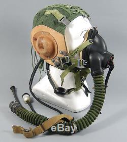 Pilotes Aircrew Flying Helmet1 Thl-3 Oxygen Mask Km-32 Aviation Polonaise Aviation Mig21
