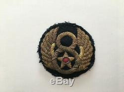 Pk87 Originale Ww2 Us Army Air Force 8 Patch English Made Bullion Wc11