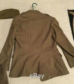 Première Guerre Mondiale Us Army Air Service Force Fea Uniforme + Pantalon D'équitation Pantalon De Cavalerie Nomme