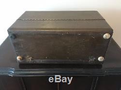 Radio-réveil Portable Zenith 5-g-5000lr 5g500 Us Army Air Force