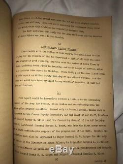 Rapport Final De La Seconde Guerre Mondiale Usaaf Wasp 1944 Aaf