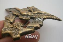 Rare! 1944 1947 Yougoslavie Armée Après Wwii Era Pilote Air Force Aviation Badge