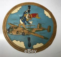 Rare 485ème Groupe De Bombardiers Disney Armée Américaine