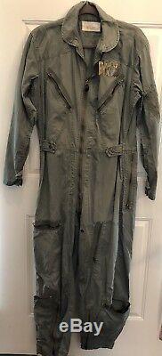 Rare! Guerre Du Vietnam 1965 Usaf Vol Costume K-2b Combinaison Us Army Air Force Militaire