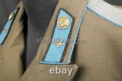 Rare M49 Armée De L'air Suit Armée Soviétique Rouge Après Ww2 Colonel Technicien