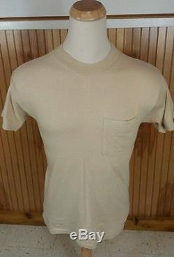 Rare Vtg Des Années 70 Navy Air Force Armée T-shirt Militaire 67e Combattant Tactique M