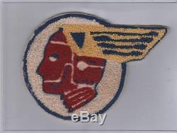 Rare Ww 2 Us Army Air Forces 327ème Escadron De Combattant Patch Inv # 899