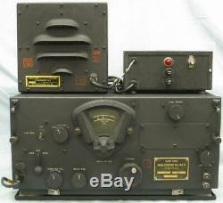 Récepteur Radio Bc-348-r De L'armée De L'air De La Seconde Guerre Mondiale, Alimentation 24 VDC Et Haut-parleur