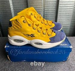 Reebok Question MID Pick Your Shoes Pys 2010 Nba All Star Pe Hommes Taille 12