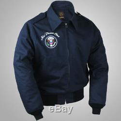 Réédition De La Veste A2 De La United States Air Force One Dans La Seconde Guerre Mondiale, Manteau Obama, Armée Navale Extérieure De L'hiver
