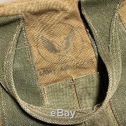 Sac An6505-1 Nommé Sac De Kit D'aviateurs En Toile Des Armées De L'us Army Air Forces