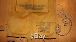 Seconde Guerre Mondiale 1943 Us Army Air Force Pilote B4 Mae Vest Gilet De Sauvetage