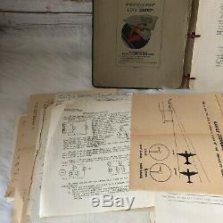 Seconde Guerre Mondiale Army Air Forces Usaaf Collection 100+ Documents Papiers Dessins Tests Notes