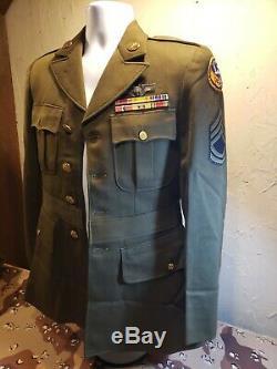 Seconde Guerre Mondiale Des États-unis 13 Armée Armée De L'air Officiers Gunners Uniforme