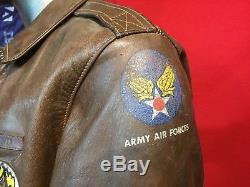 Seconde Guerre Mondiale Eastman A-2 A2 Aaf Veste Army Air Force 40