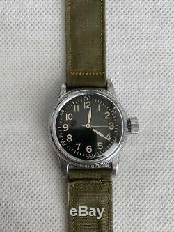 Seconde Guerre Mondiale Elgin Us Army Air Force A-11 Montre 539 Hack Ww2 Vintage 1945