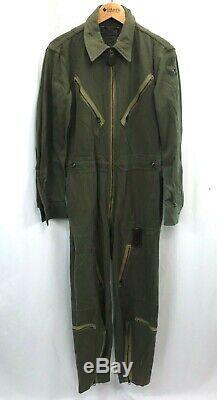 Seconde Guerre Mondiale Forces Us Army Air Type L-1 Lumière Gabardine Flight Suit
