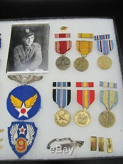 Seconde Guerre Mondiale L'armée Américaine 9 Groupement Médaille De L'aviation