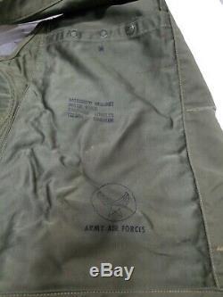 Seconde Guerre Mondiale U. S. Armée Air Force De Survie Gilet De Nombreuses Poches Holster Labellisées