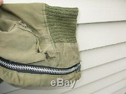 Seconde Guerre Mondiale Us Army Air Force Pantalon Type De Vol A11-a Intermédiaire Grande Taille 34