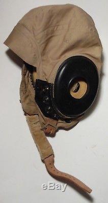 Seconde Guerre Mondiale Us Army Air Force Pilote Pilote Casque Vol Cap Bates Shoe Co Mint