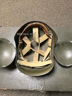 Seconde Guerre Mondiale Usaaf Armée Force Aérienne M5 Flak Casque Named